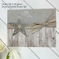 Stampin' Up! So Many Stars Christmas Card – Stamp It Up with Jaimie Chrismas Cards, Stampin Up Christmas, Christmas Mom, Handmade Christmas, Holiday Cards, Christmas Crafts, Country Christmas, Christmas Holiday, Xmas Theme