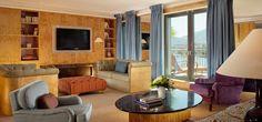 Sitting room of the Royal Suite Armleder at Le Richemond, Geneva