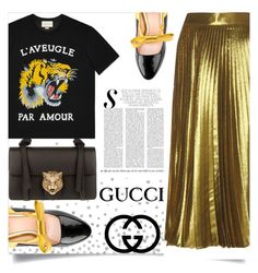 """Noornt- All About Gucci."" by allaboutno ❤ liked on Polyvore featuring Gucci"
