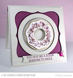 I so badly want this donuts die!!!