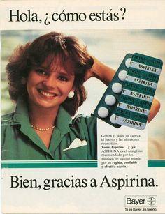 Aspirina Bayer, Anuncio en Chile 1990