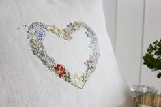 Learn hand embroidery, shop for haberdashery and antique linens. Join us on a creative retreat. Simple Embroidery, Floral Embroidery, Hand Embroidery, Embroidery Ideas, Haberdashery, Small Gifts, Floral Tie, Needlework, Creative