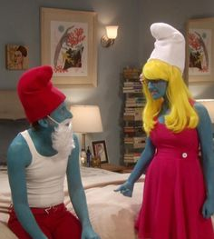 """#Halloween 2012 on TV: """"The Big Bang Theory"""" — Oct. 25 at 8 p.m. ET/PT on CBS. #Smurfs #TBBT"""