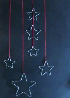 Diese Weihnachtssterne sind schnell gebastelt und kosten praktisch nichts. Ich habe sie bei uns an die Wand gehängt und ein paarmachen sich auch ganz hübsch zwischen Tannenzweigen auf der Fensterbank. Also ran an den Draht! Material: Ihr benötigt einfachen Draht aus dem Baumarkt und eine Zange. Thats it! 1. Den Draht eindrehen. Dies benötigt evtl. … … Weiterlesen →