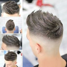 Best New Haircuts For Men - Quiff + High Fade #HairMenStyle