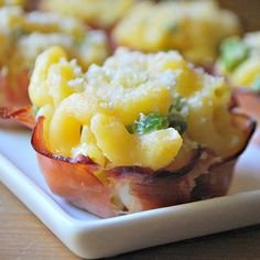 Ham Cups with Mac 'n' Cheese | 9 Mini Muffin Tin Recipes - SavvyMom.ca