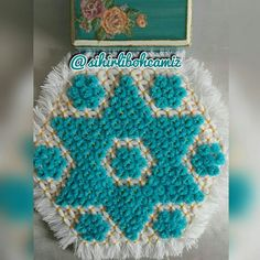 Banyo lifi Blanket, Crochet, Tricot, Crochet Crop Top, Rug, Blankets, Chrochet, Knitting, Haken