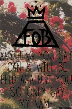 Fall Out Boy- Just One Yesterday | We Heart It