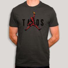 Deadpool, Tacos, T Shirt, Mens Tops, Fashion, Cotton, Accessories, Moda, Tee