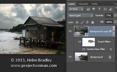 Adobe Camera Raw (ACR) as a Photoshop Filter