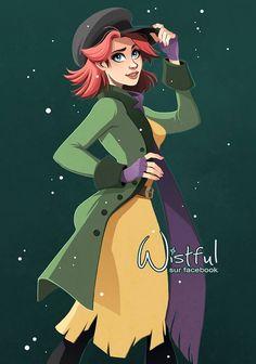 Anastasia (Drawing by Wistful.Art @Facebook) #Anastasia