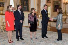 Foro Hispanico de Opiniones sobre la Realeza: Recepción de Año Nuevo de la Familia Gran Ducal a los miembros del gobierno y diputados