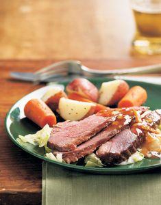 Marmalade-Glazed Corned Beef