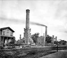Water Tower Chicago 1868: before the fire