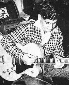 Don playing with The Shenanigans 1952