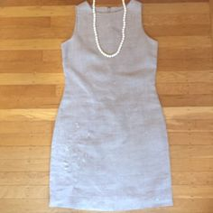 """Linen Style & Co dress. Linen Style & Co. Beautiful. 17"""" under arm to under arm. 34 1/2"""" shoulder to hem. Size 2P. Very good condition. Style & Co Dresses"""