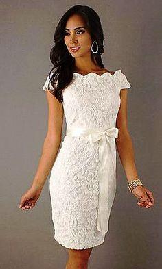Resultado de imagem para vestido para casamento civil