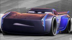 Lightning's villainous new nemesis is a tech-savvy car named Jackson Storm, voiced by Armie Hammer.