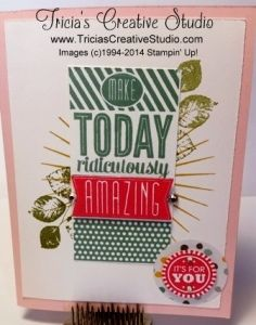 Tricia's Creative Studio | Living life creatively, one craft project at a time!