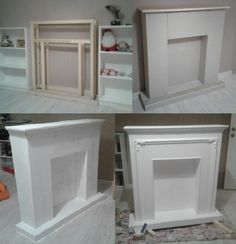 Photo Faux Fireplace Mantels, Candles In Fireplace, Christmas Fireplace, Firepla. - in fireplace christmas Faux Mantle, Faux Fireplace Mantels, Fireplace Frame, Simple Fireplace, Candles In Fireplace, Fireplace Cover, Christmas Fireplace, Fireplace Surrounds, Christmas Candles
