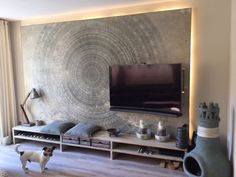 wall and deco designbehang mandala paneel