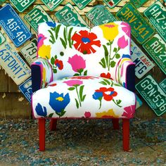 I wish...    Art Deco Chair by Vintage Renewal.