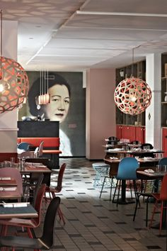 Restaurant NAMNAM Copenhagen | designed by studio HolmbäckNordentoft in collaboration with Christina Meyer Bengtsson.
