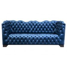 3 Seater Coco Sofa - Edward's Court - Temple & Webster presents Velvet Furniture, Blue Furniture, Colorful Furniture, Sofa Furniture, Velvet Lounge, Lounge Couch, Blue Velvet Sofa, Lounge Suites, Three Seater Sofa