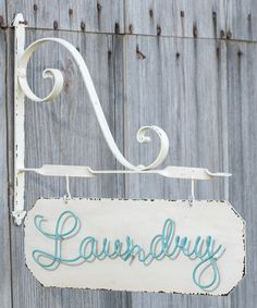 'Laundry' Wall Sign by Ragon House #zulily #zulilyfinds