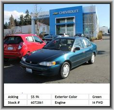 1999 Toyota Corolla CE Sedan  Front And Rear Suspension Stabilizer Bars, Body-Colored Bumpers, Cupholders: Front And Rear, One 12V Dc Power Outlet, Front Hip Room: 50.5, Total Number Of Speakers: 4, Daytime Running Lights, Right Rear Passenger Door Type: Conventional, Fixed Antenna, Cloth Seat Upholstery, Cargo Area Light, Coil Rear Spring, Body-Colored Grille