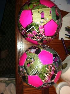 Photo Soccer Ball. Cool idea as a gift for a soccer player
