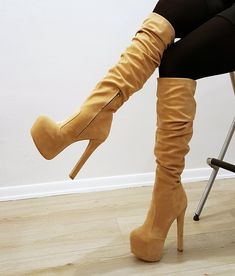 6e17b72363e 79 Best High Heel Boots images in 2019