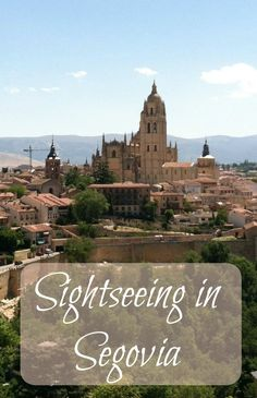 If you are visiting Madrid, you simply must take the 30 minute train ride for a day trip to Segovia, Spain. There is so much to see in this charming, walkable city including a castle, cathedral and an amazing 2000 year old aqueduct. Plus find out why you see those pigs everywhere...