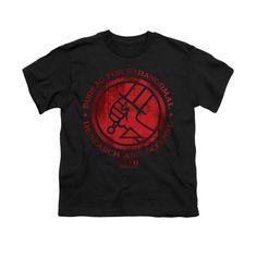 Hellboy BPRD Classic Logo Youth T-Shirt