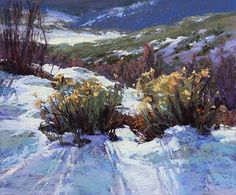 A Winter's Coat by Kim Lordier Pastel ~ 24 x 20