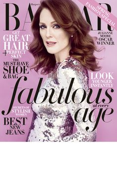 Introducing Julianne Moore as BAZAAR's April cover star. Available on newsstands March 24th, HarpersBAZAAR.com