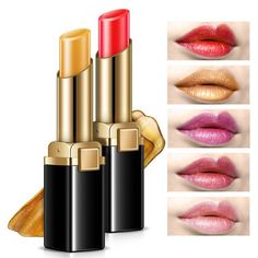 Waterproof Moisturizing Metallic Pigment Matte Lipstick //Price: $9.95 & FREE Shipping //     #makeupface