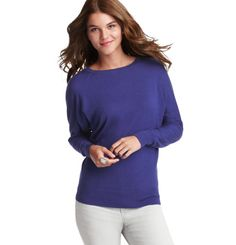 Ribbon Back Dolman Sleeve Sweater...dolman sleeves? this comes in lots of colors...ann taylor loft.