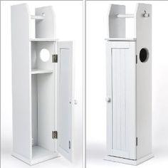 Relaxdays Toilettenpapierhalter WC Standgarnitur 78, 5 X 18 X 20 Cm:  Amazon.de: Küche U0026 Haushalt