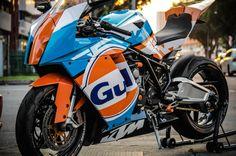 Ktm Rc8, Ktm Motorcycles, Cafe Bike, Motorcycle Camping, Xmax, Harley Davidson Street Glide, Sportbikes, Bike Design, Bike Life