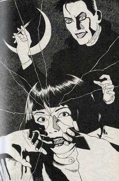 "akatako: "" from ""Haunted Mansion"" by Suehiro Maruo "" Japan Illustration, Kunst Inspo, Art Inspo, Arte Horror, Horror Art, Japanese Horror, Art Vintage, Manga Artist, Creepy Art"