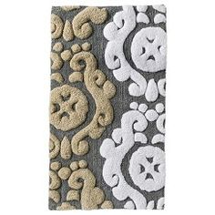 Threshold™ Scroll Bath Rug   Gray (20x34)