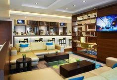 Courtyard Aberdeen Airport AB21 - Bistro Bar & Lounge Area