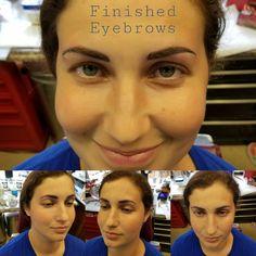 Hairline/micro blading Eyebrows by Jeff Ziozios at Bay City Tattoo Tampa #tattoo #tattoos #inked #inkedgirls #getink #microblading #hairline #hairlineeyebrows #permanant #permananteyebrows #permanantmakeup #micropigmentation #baycitytattoos #tattoosbyjeffziozios #google #girl #tattooedwomen #girlswithtattoos #tampa #yborcity #inkedgirls