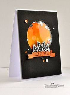 Hello there! Mayuri here to share a halloween themed card today - I used some images from the...