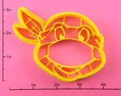 Teenage Mutant Ninja Turtle Cookie Cutter by WarpZone on Etsy