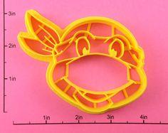 Teenage Mutant Ninja Turtle Cookie Cutter. $5.50, via Etsy.