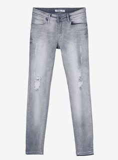 Jeans Nicky com Rasgões - Mulher - Novo