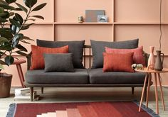 nudes and naturals terracotta interior blush pink walls Pink Home Decor, Interior Decorating, Interior Design, The Design Files, Pink Walls, Room Colors, Colorful Interiors, Home And Living, Interior Inspiration