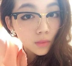 Online Shop eyeglasses eyeglasses frames women glasses for the myopia for decorating Semi- Rimless New Arrival 2014 with glasses removable|Aliexpress Mobile